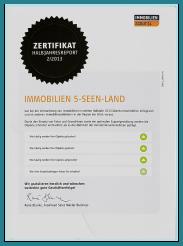 Zertifikat für professionelle Immobilien-Beratung